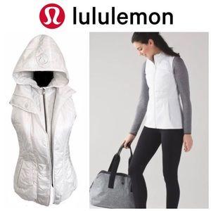NWOT Lululemon Glacial Puffer Vest in Alpine